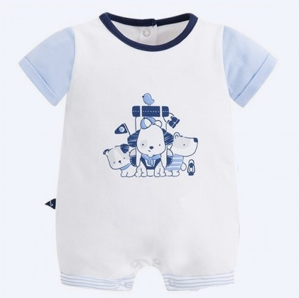 mayoral baby boy short pyjamas Colour blue