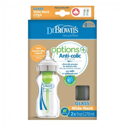 Μπιμπερό Dr. Brown's Options+™ 2x150ml_2