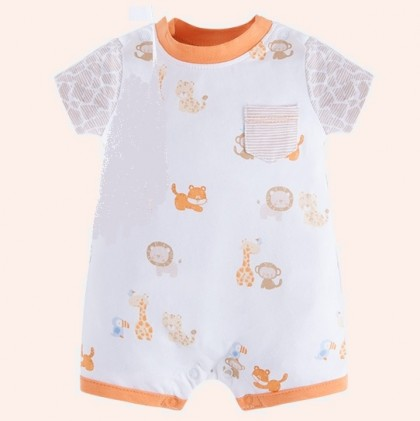 Mayoral Baby Boy Jersey Onesies In Colour Royal Peach
