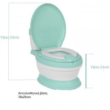 Kikka Boo Λεκάνη Potty toilet seat Lindo Σιελ_5