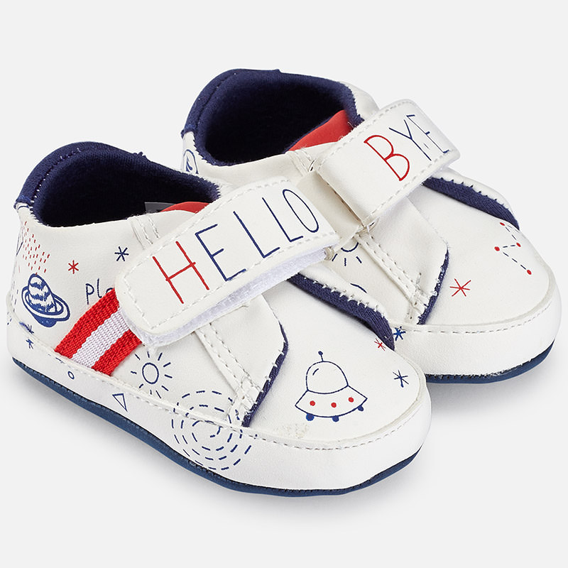 749e51277aed mayoral sporty shoes white blue - baby clothes - EXCELLENT