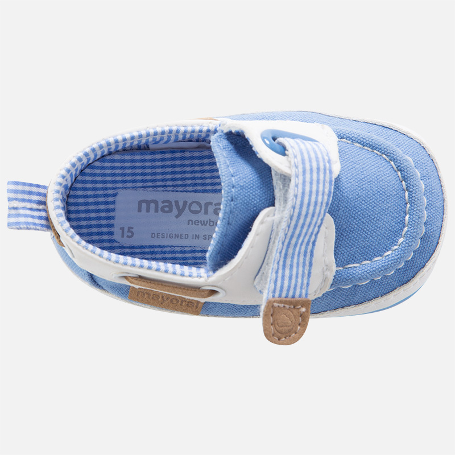 ef3c28878c5 Παπούτσια Αγκαλιάς Ιστιοπλοΐας σιελ - Ρουχαλάκια - Excellent